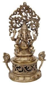 <b>Bronze</b> Statues - Tree <b>Ganesha</b> - Big | <b>Ganesha</b>, Tanjore painting ...