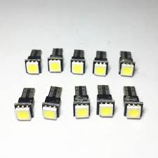 Online Shop <b>10pcs T5 LED Car</b> Auto LED 1 led smd 5050 Wedge ...
