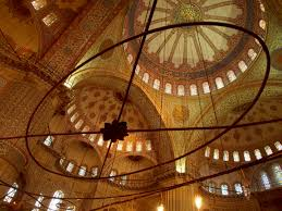 a short essay on istanbul inside the blue mosque