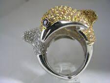 <b>Кольца</b> с <b>фианитом</b> Dolphin — купить c доставкой на eBay США