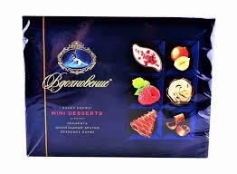 <b>Набор конфет Вдохновение Mini</b> Desserts 165г Красный Октябрь