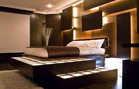 interior designsdramatic bedroom design with modular bed also vibrant wall lighting best bedroom lighting best bedroom lighting