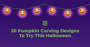 20 Unique <b>Pumpkin Carving Designs</b> to Try This <b>Halloween</b> ...