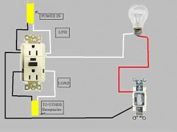 wiring diagram of gfci receptacle the wiring diagram circuit diagram doityourself community forums wiring diagram · gfci receptacle wiring diagram schematics