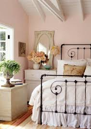 feminine bedroom furniture bed:  dreamy feminine bedroom interiors full of romance and softness guest rooms wrought iron and girly