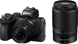 <b>Nikon Z50</b> Mirrorless Camera Two Lens Kit with <b>NIKKOR</b> Z <b>DX</b> 16 ...