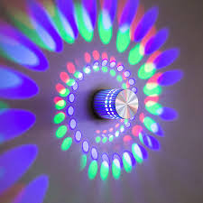 <b>Creative LED Wall Light</b> RGB Wall Lamp Modern Light Fixture ...