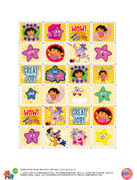 printable dora stickers potty training concepts just in jpeg or