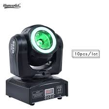 Disco dj rgbw 4in1 <b>60w mini</b> beam <b>led</b> moving head light with ...