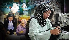 Image result for pekerja wanita mula kerja