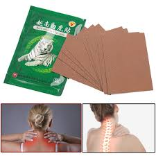 8pcs Tiger Balm Medical Patch Drug Plasters For Joint Pain Neck ...
