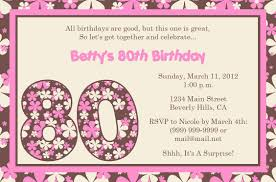sample th birthday invitations templates ideas sample 80th birthday invitations templates theme for your birthday