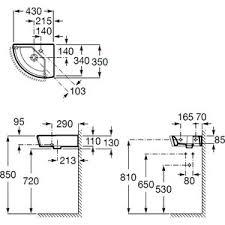 <b>Раковина Roca Hall</b> мини угловая правая 35х43 см (<b>327622000</b>)