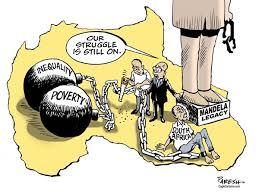 South African struggle by Political Cartoonist Paresh Nath via Relatably.com