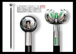 Image result for dr. who cane