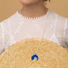 <b>Serebriciti Jewelry Синее</b> Колье На Жемчужной Нити Serebriciti ...
