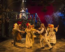 los angeles theatre review a christmas carol a noise in jesse david corti s stage and cinema review of a christmas carol at a noise in in