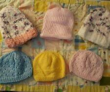 Handmade <b>Knitted Newborn Baby</b> Hats for sale | eBay
