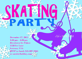 skating party invitation template skate party invitations unique ice skate invitation related items
