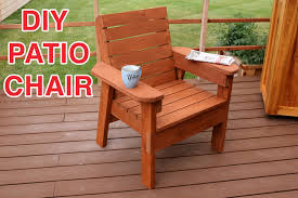 diy patio chair plans buy diy patio furniture