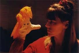 Frida och den osynlige Hermons. Text: Anne Djurberg Musik: Bo Lindell Scenografi: Eva Lundbäck. Medverkande: Anne Djurberg Bo Lindell. Premiär 1996 - frida