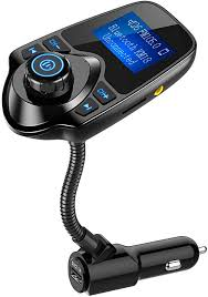 Nulaxy Bluetooth Car FM Transmitter Audio Adapter ... - Amazon.com