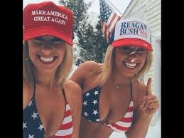 Image result for babes for trump
