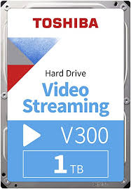 "<b>Toshiba</b> HDWU110UZSVA 1TB <b>V300</b> 3.5"" <b>Video Streaming</b> Hard Drive"