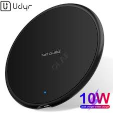 <b>Udyr 10W Qi</b> Wireless Charger Receiver for iPhone Xs Max X 8 Plus ...