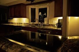 dekor led under cabinet lights at night cabinet lighting kitchen