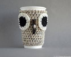 Image result for crochet coffee cup cozy