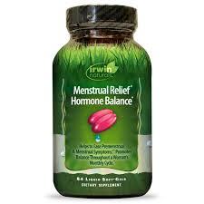 Irwin Naturals <b>Menstrual Relief Hormone Balance</b> 84 Soft Gel ...