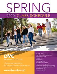 DVC Spring 2020 Class Schedule by Diablo Valley College - issuu