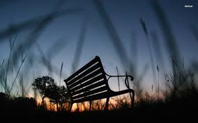 Image result for two friends on bench silhouette