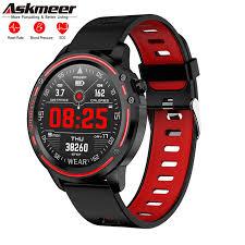 <b>Askmeer</b> L8 <b>Smart</b> Watch Reloj Inteligente Hombre Smartwatch IP68 ...