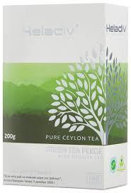 Купить <b>Чай зеленый</b> Heladiv <b>Green Tea</b> Pekoe, 200 г по низкой ...