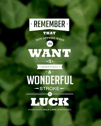 Luck Quotes. QuotesGram via Relatably.com