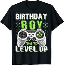 Birthday Boy Time to Level Up Video Game Birthday ... - Amazon.com