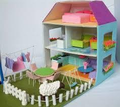 Mobili Per La Casa Delle Bambole : Casa delle bambole fai da te foto nanopress donna