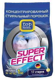 <b>Стиральный порошок Top House</b> Super Effect (автомат) — купить ...