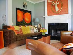 ideas burnt orange: pictures of the orange teal and brown bedding