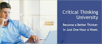 Welcome to critical thinking  Critical Thinking  Preview This Course
