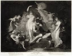a midsummer night s dream a midsummer night s dream act iv scene i engraving from a painting by henry fuseli published 1796