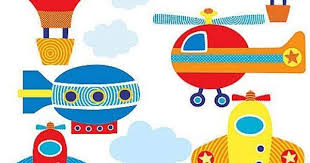 Wallies 15223 Up, Up, and Away Wallpaper Mural, 2-Sheet by ...
