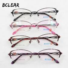 Bclear Beautiful <b>Women</b> Cat Eye Style <b>Metal</b> Alloy Eyeglasses <b>New</b> ...