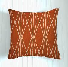 16 burnt orange pillow coverdecorator pillow coverhome decor rust premier diamonds burnt orange furniture