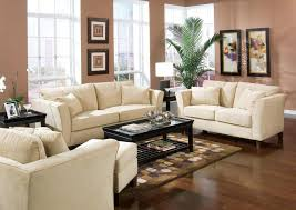 house beautiful living room furniture brown wooden laminate flooring white fabric arm sofa sets brown polca beautiful living room furniture