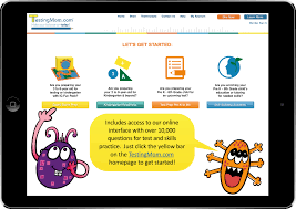new edition of iq fun pack test readiness that feels like a it s easy to access questions for the activity boards first touch the yellow bar to access the practice questions
