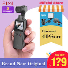 <b>FIMI PALM</b> Gimbal Camera <b>3 Axis 4K</b> HD Handheld Stabilized ...
