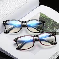 <b>2019 COOLSIR</b> Square Blu Ray Anti Radiation Glasses Women ...